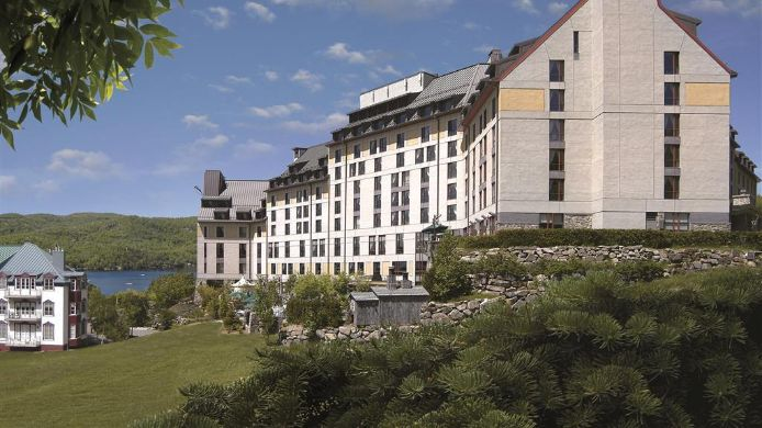 Exterior view Fairmont Tremblant
