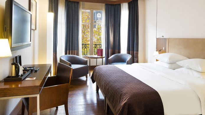 Room Paris Radisson Blu Hotel Champs Elysees