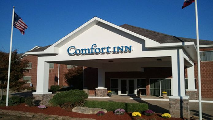 Exterior view Comfort Inn Mountain Home