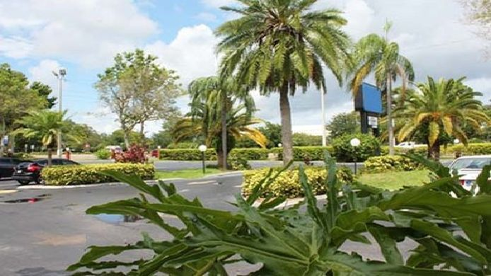 Buitenaanzicht Quality Inn & Suites at Tropicana Field