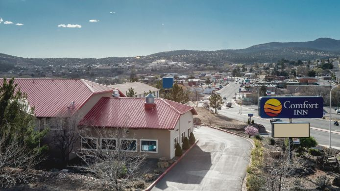 Exterior view Comfort Inn Near Gila National Forest