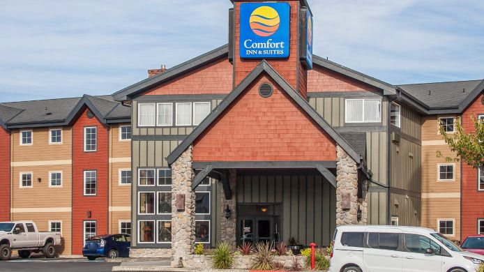Exterior view Comfort Inn & Suites by Seaside Convention Center/Boardwalk