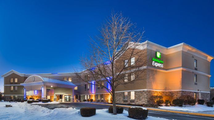 Buitenaanzicht Holiday Inn Express HARRISBURG NE