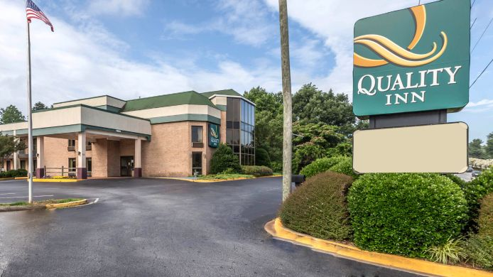 Buitenaanzicht Quality Inn Greer