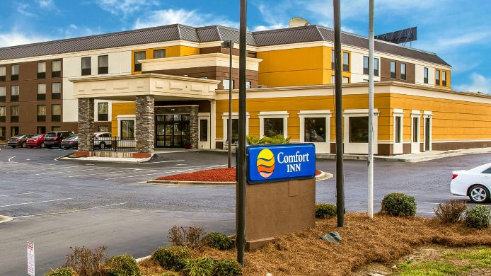 Exterior view Comfort Inn At Carowinds