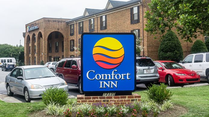 Exterior view Comfort Inn Newport News