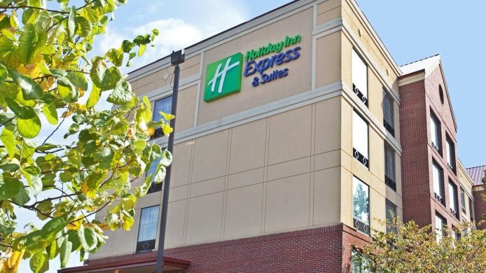 Buitenaanzicht Holiday Inn Express & Suites COLUMBIA - DOWNTOWN