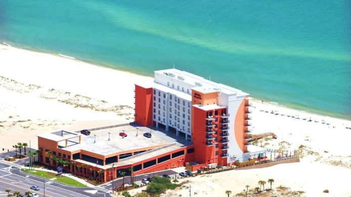 Buitenaanzicht HAMPTON INN AND SUITES ORANGE BEACH