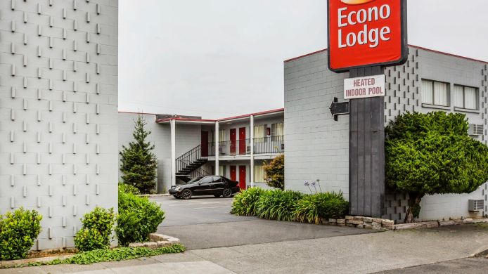 Exterior view Econo Lodge Eureka by Humboldt Bay