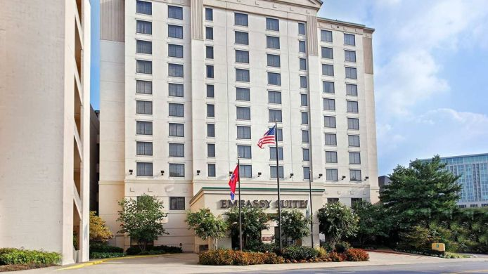 Exterior view Embassy Suites by Hilton Nashville at Vanderbilt