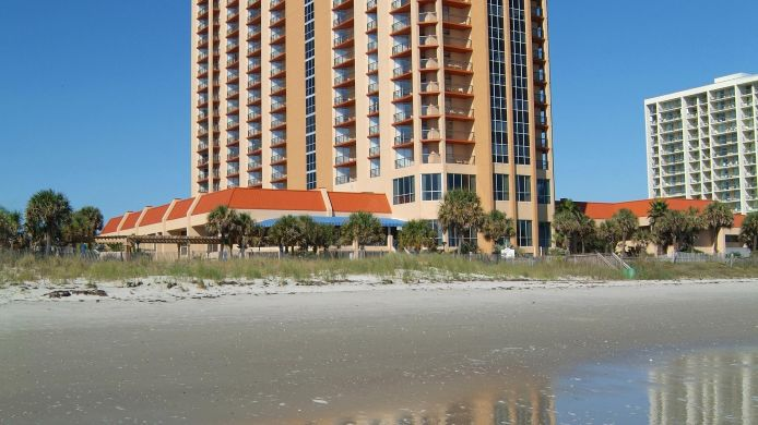 Exterior view Embassy Suites by Hilton Myrtle Beach Oceanfront Resort