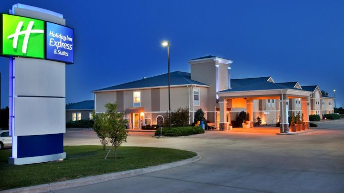 Buitenaanzicht Holiday Inn Express & Suites ABILENE