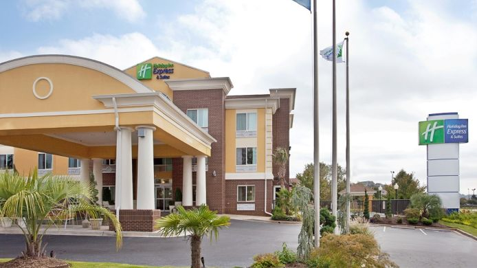 Buitenaanzicht EX 19B) Holiday Inn Express & Suites ANDERSON-I-85 (HWY 76
