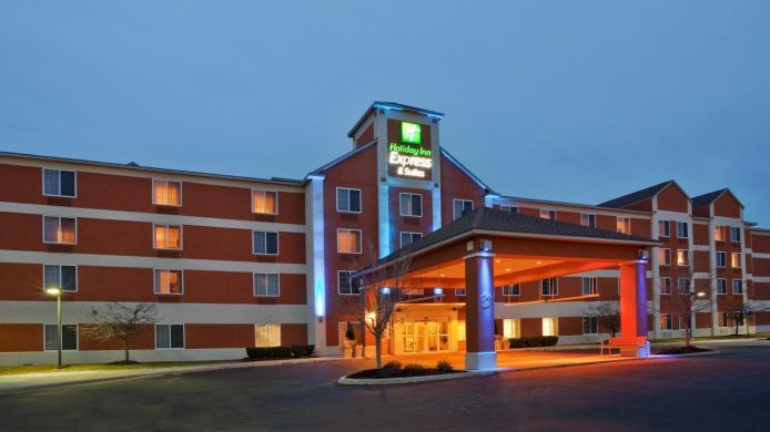 Buitenaanzicht Holiday Inn Express & Suites ANN ARBOR