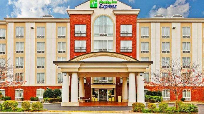 Buitenaanzicht Holiday Inn Express & Suites CHATTANOOGA-LOOKOUT MTN