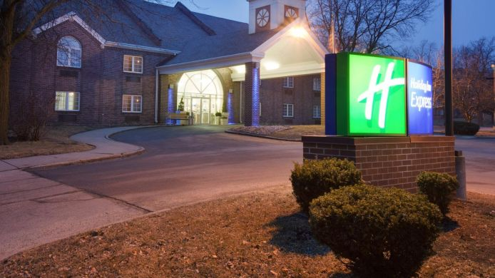 Exterior view Holiday Inn Express DES MOINES-AT DRAKE UNIVERSITY