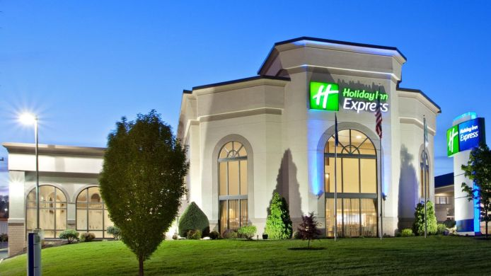 Buitenaanzicht Holiday Inn Express HARRISONBURG