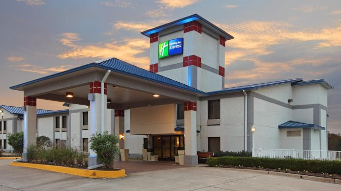 Exterior view Holiday Inn Express HOPE