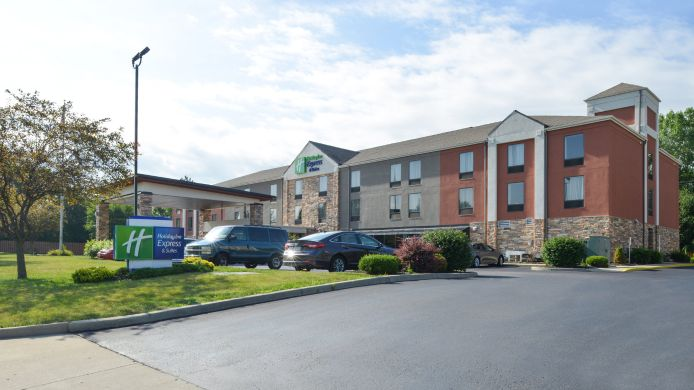 Buitenaanzicht Holiday Inn Express & Suites DAYTON-HUBER HEIGHTS