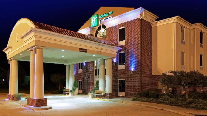Exterior view Holiday Inn Express MINDEN