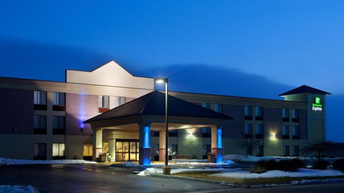 Buitenaanzicht Holiday Inn Express RACINE AREA (I-94 AT EXIT 333)