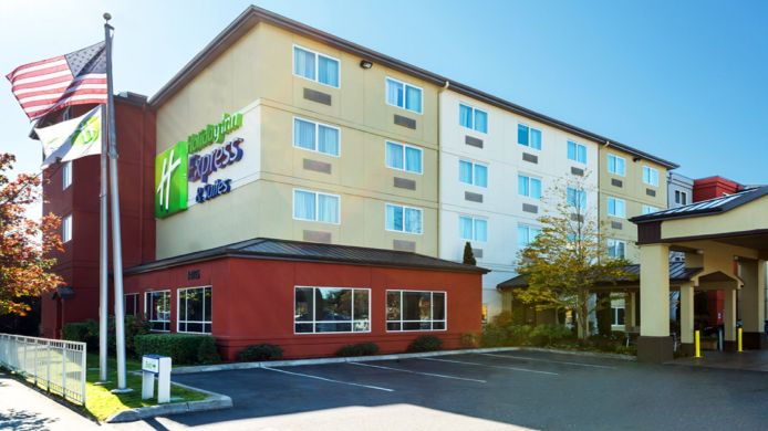 Buitenaanzicht Holiday Inn Express & Suites NORTH SEATTLE - SHORELINE