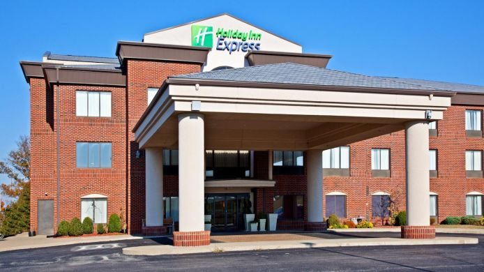 Exterior view Holiday Inn Express & Suites SHELBYVILLE