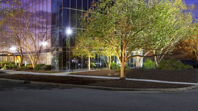 Exterior view Hilton Greenville