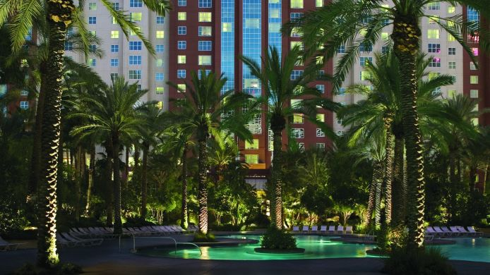 Exterior view Hilton Grand Vacations at the Flamingo