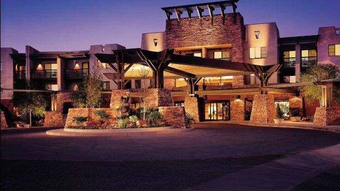 Exterior view Hilton Sedona Resort at Bell Rock