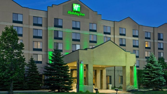 Buitenaanzicht Holiday Inn Hotel & Suites BOLINGBROOK