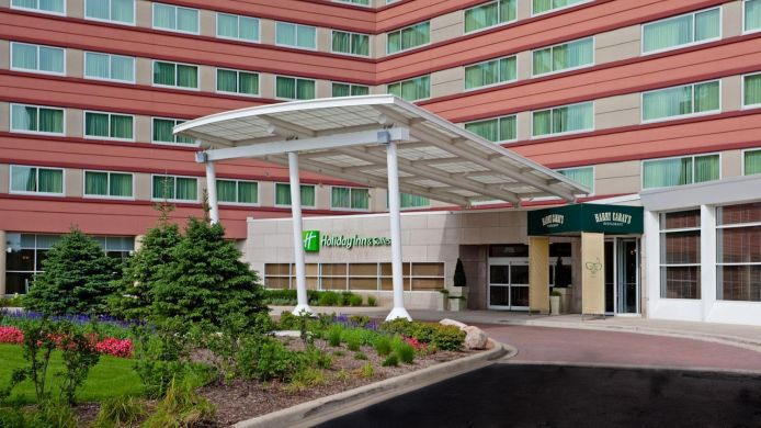 Exterior view Holiday Inn Hotel & Suites CHICAGO O'HARE - ROSEMONT