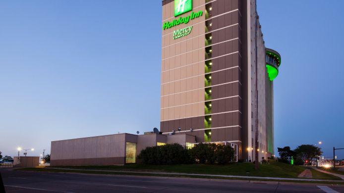 Buitenaanzicht Holiday Inn DES MOINES DTWN - MERCY AREA