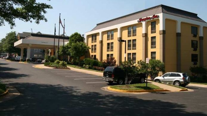 Buitenaanzicht Hampton Inn Alexandria-Pentagon South VA