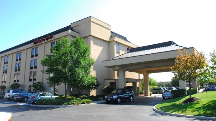 Exterior view Hampton Inn Columbus-International Airport OH