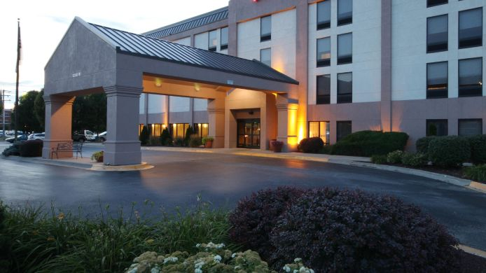 Exterior view Hampton Inn Champaign-Urbana-At Univ of Ill