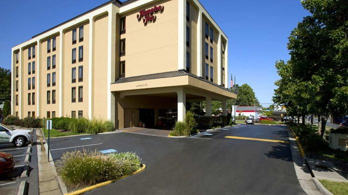 Buitenaanzicht Hampton Inn Fairfax City