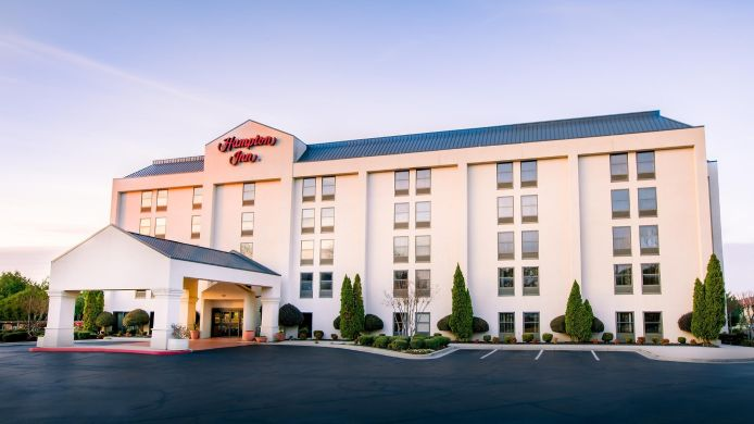 Exterior view Hampton Inn Huntsville-Arsenal-S Pkwy