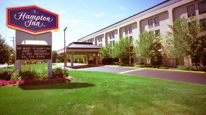 Exterior view Hampton Inn Long Island-Islandia