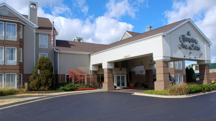 Exterior view Hampton Inn - Suites Lincolnshire Il
