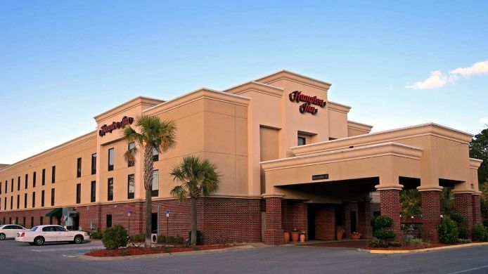 Exterior view Hampton Inn Panama City Beach