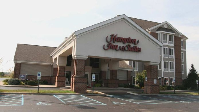 Buitenaanzicht Hampton Inn - Suites Scottsburg