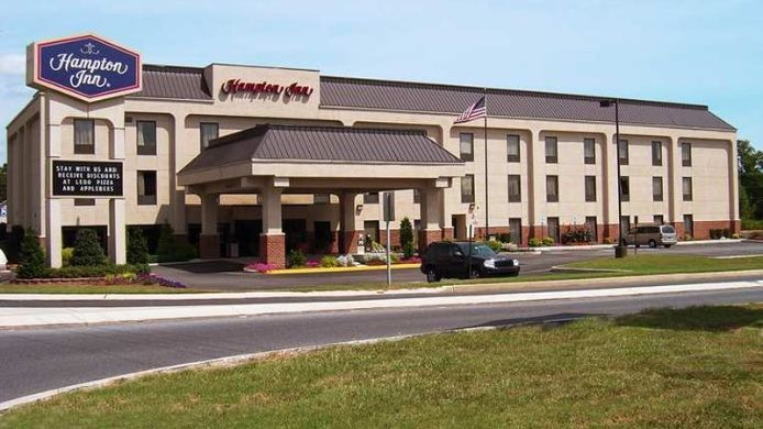 Exterior view Hampton Inn Seaford Delaware