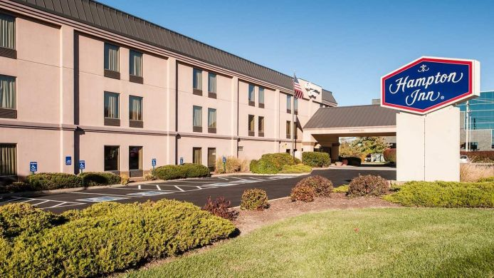 Buitenaanzicht Hampton Inn St Louis-Chesterfield