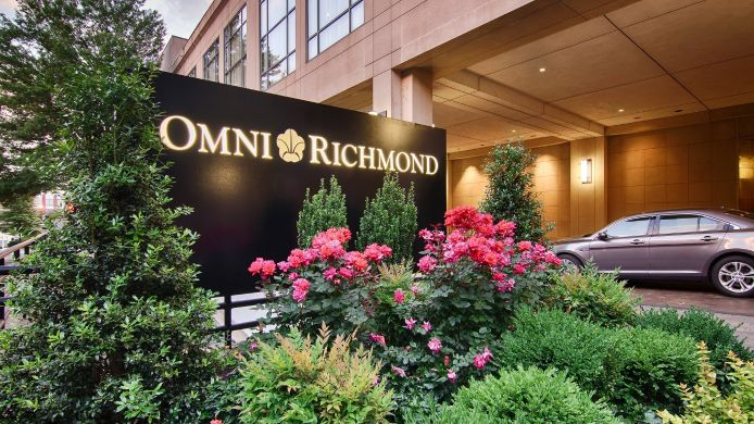 Exterior view Omni Richmond Hotel