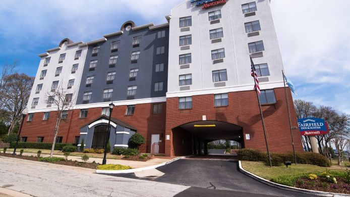 Außenansicht Fairfield Inn & Suites Atlanta Airport North