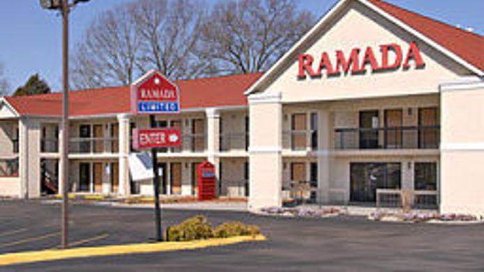 Buitenaanzicht TN Ramada Limited East Knoxville