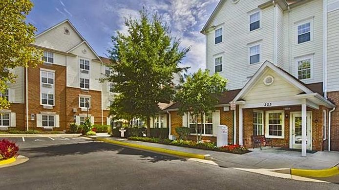 Buitenaanzicht TownePlace Suites Falls Church