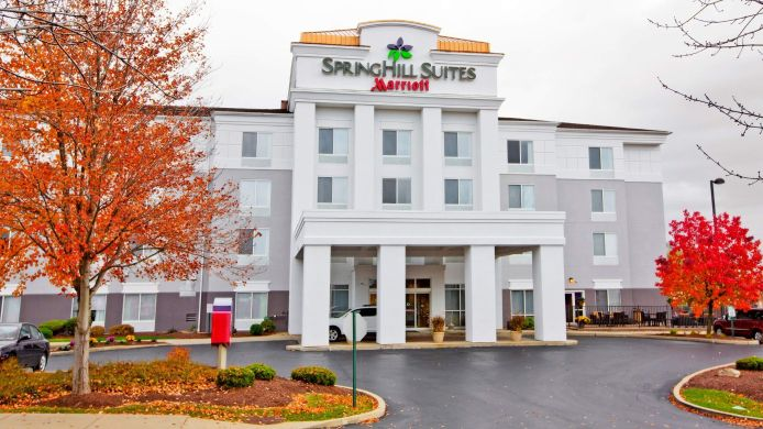 Exterior view SpringHill Suites Pittsburgh Monroeville