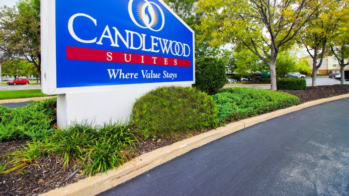 Exterior view Candlewood Suites ST. LOUIS